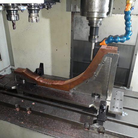 Mecanizado de partes